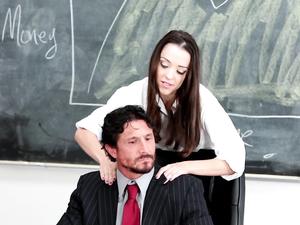 Facial For A Schoolgirl Slut From Her Teacher