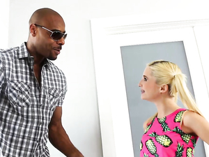 Tiny Babe And A Tall Black Guy Fucking For Pleasure