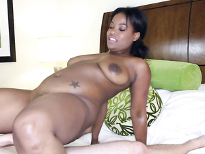 Curvy Black Teen Craves White Dick In Her Pussy