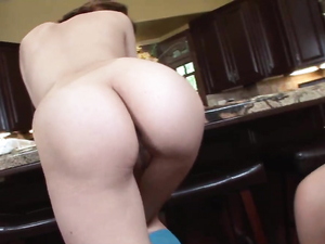 Kitchen Counter Fuck Between Hot Stepsisters