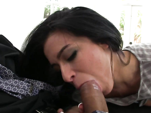 Crop Top Hottie Seduces Him Into Her Latina Pussy