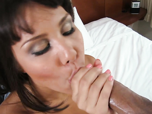 Cum On Her Big Asian Booty After A Hot Fuck