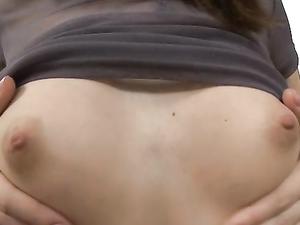 Young Slut In A Miniskirt Pleasures His Cock