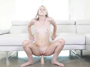 Skinny Body Is Hot On This Teen Hardcore Hottie