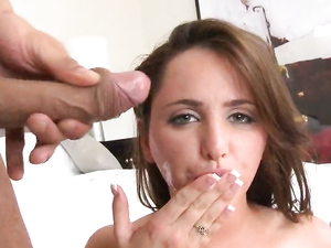 Hairy Cunt Of A Curvy Girl Filled With Fat Dick