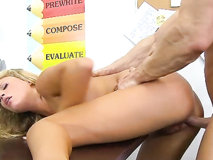 Fucking Schoolgirl Heather Starlet On Her Desk