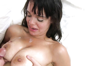 Fucking Latina Cunt And Cumming On Her Big Titties