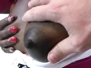 Black Girl Dresses Up Slutty For Costume Sex