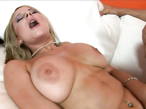 Cumming On Her Big Tits After A Hot Fucking