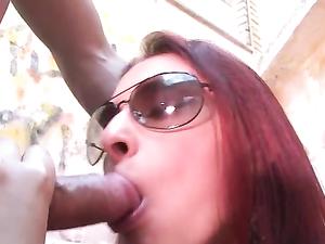 Dirty Latina Whore Likes A Hard Outdoor Fucking