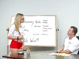 Nerdy Bailey Blue Banged By Her Teacher