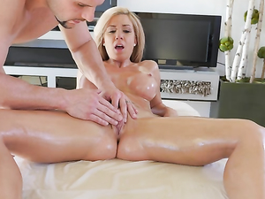 Perfect Body Babe Parker Swayze Oiled And Fucked