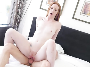 Dreamy Young Redhead Katy Kiss Has Beautiful Sex