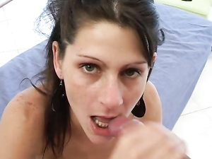 Slutty Latina Asshole Gapes From His Fingers And Cock