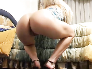Latina In Heels Craves A Big Cock And Gets It Doggystyle