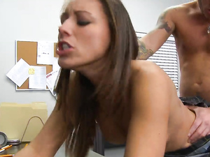 Schoolgirl Moans As Her Teacher Pounds Her Hardcore