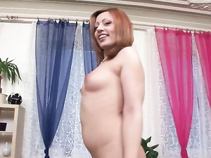 Dirty Redhead Delights In Teasing With Her Pierced Nipples