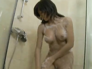 Teen Tits And Pussy Get Clean In A Sexy Shower