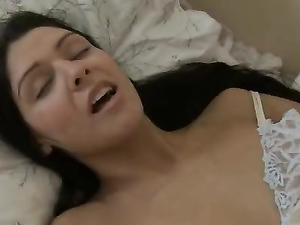 Pretty Girl Turns On Her Vibrator To Get Off