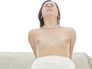 Sweet Young Glam Girl Fucks Him Until He Cums