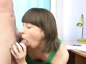 Orally Fixated Teen Loves Sucking Dick And Balls